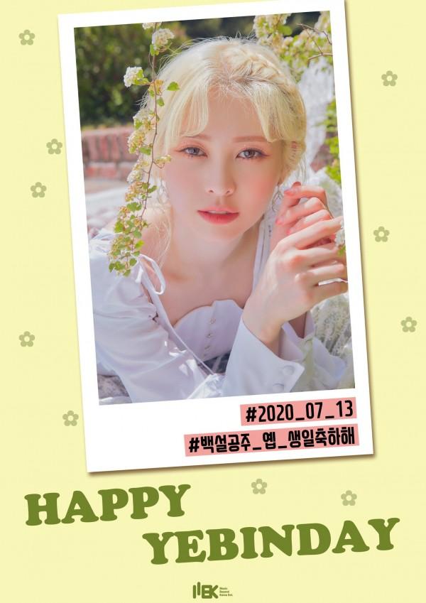 HAPPY YEBIN DAY