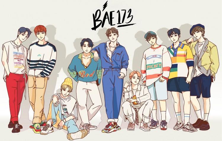 [단독]만화찢고 나온 BAE173 데뷔 카운트 다운 시작