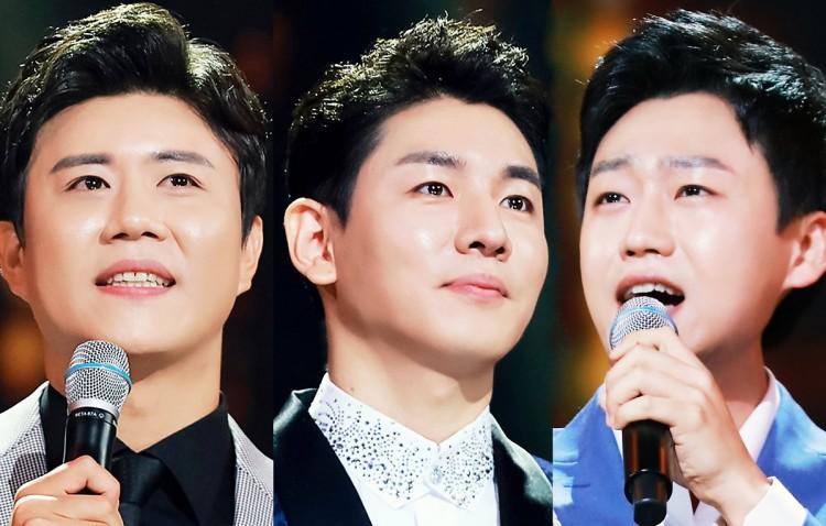 '트롯 팬덤 전쟁' 진해성, 한강,민수현 경쟁 돌입