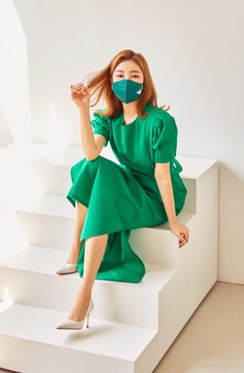 '트롯여신' 송가인, 친환경 마스크 브랜드 뮤즈 발탁