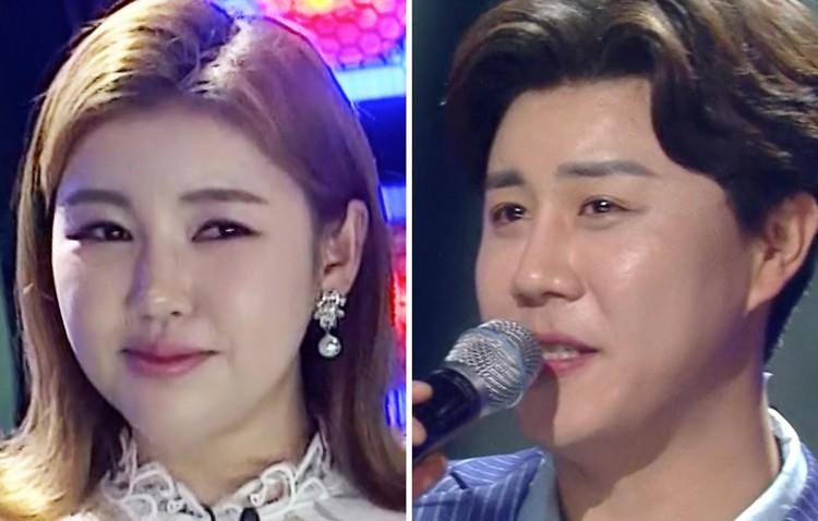 '송가인 X 진해성' '戰線夜曲'부르다 눈물 흘린 사연