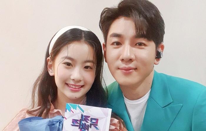 한강, 오유진과 봄내음 인증샷…'뮤직뱅크' 출연 예고