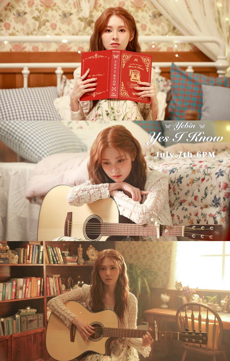 다이아 예빈! 오늘 오후 6시 신곡 'Yes I Know' 발매! 기대 포인트 3 #데뷔 후 첫 솔로 #기타 #예빈의 재발견
